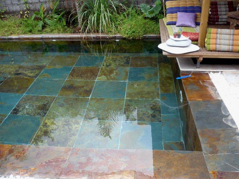terrasse piscine ardoise. Black Bedroom Furniture Sets. Home Design Ideas
