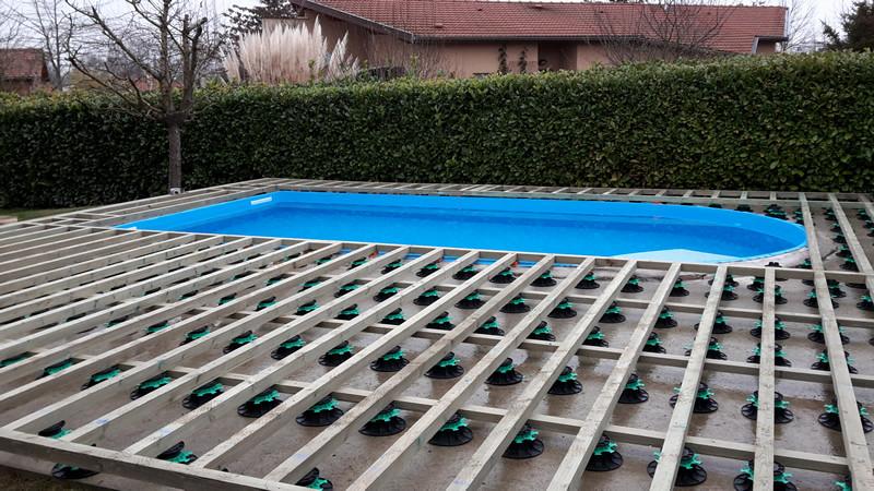 terrasse piscine bois composite gris. Black Bedroom Furniture Sets. Home Design Ideas