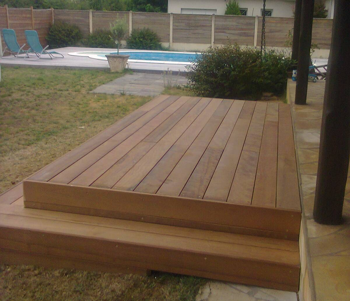 terrasse piscine bois entretien. Black Bedroom Furniture Sets. Home Design Ideas