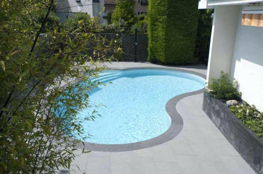 Terrasse Piscine Carrelage Gris - Photo terrasse carrelage gris
