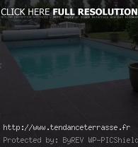 terrasse piscine carrelage. Black Bedroom Furniture Sets. Home Design Ideas
