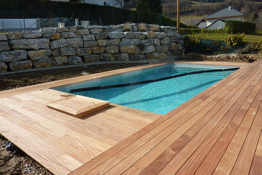 terrasse piscine cumaru