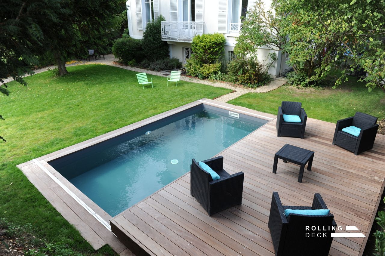 terrasse piscine deck