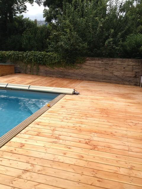 terrasse piscine douglas. Black Bedroom Furniture Sets. Home Design Ideas