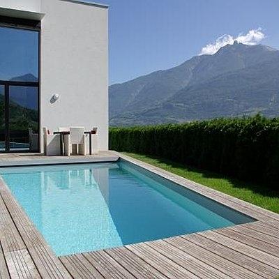 terrasse piscine facile. Black Bedroom Furniture Sets. Home Design Ideas