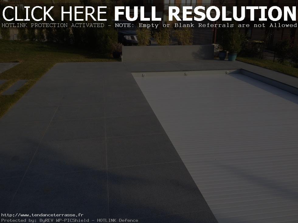 terrasse piscine granit