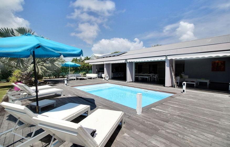 terrasse piscine guadeloupe