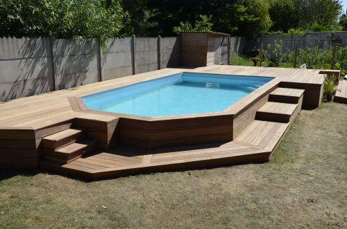 terrasse piscine hauteur. Black Bedroom Furniture Sets. Home Design Ideas