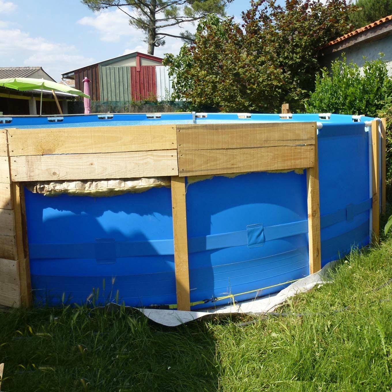 terrasse piscine hors sol palette