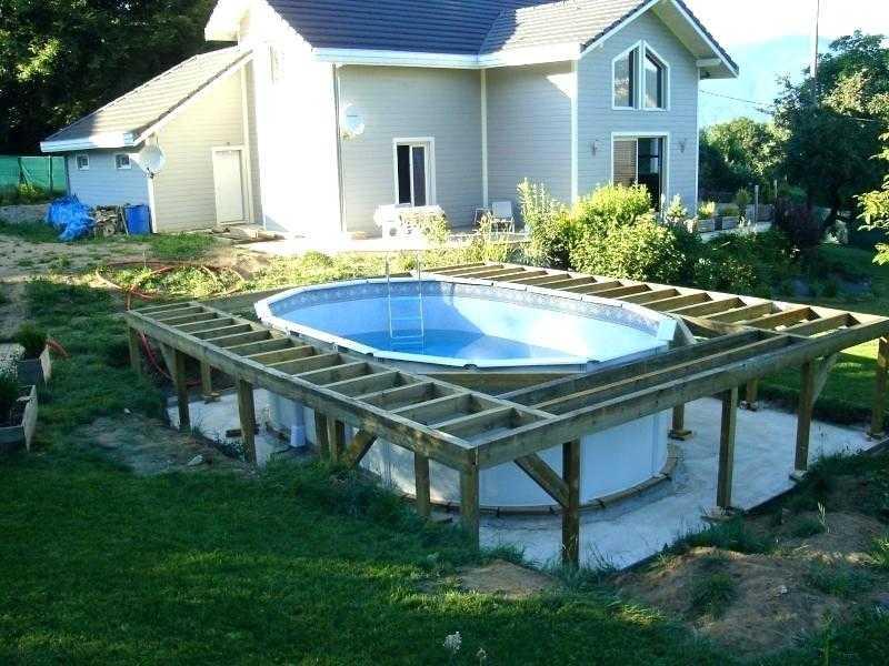 Terrasse piscine hors sol - Piscine gonflable hors sol ...