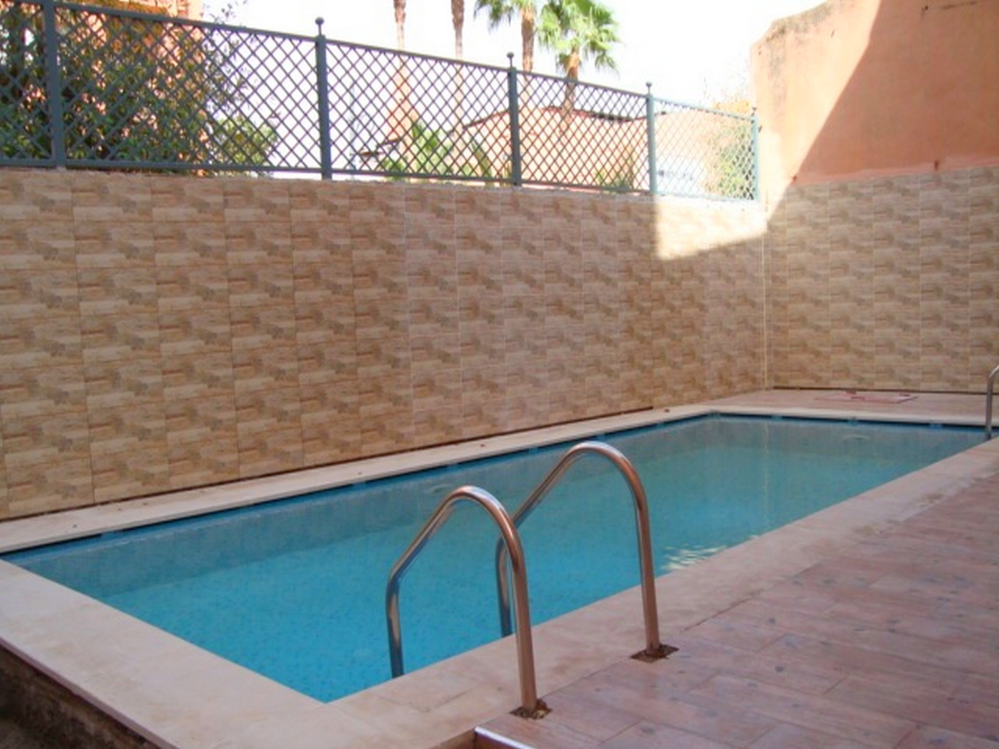 terrasse piscine maroc