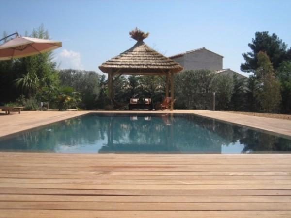 terrasse piscine miroir