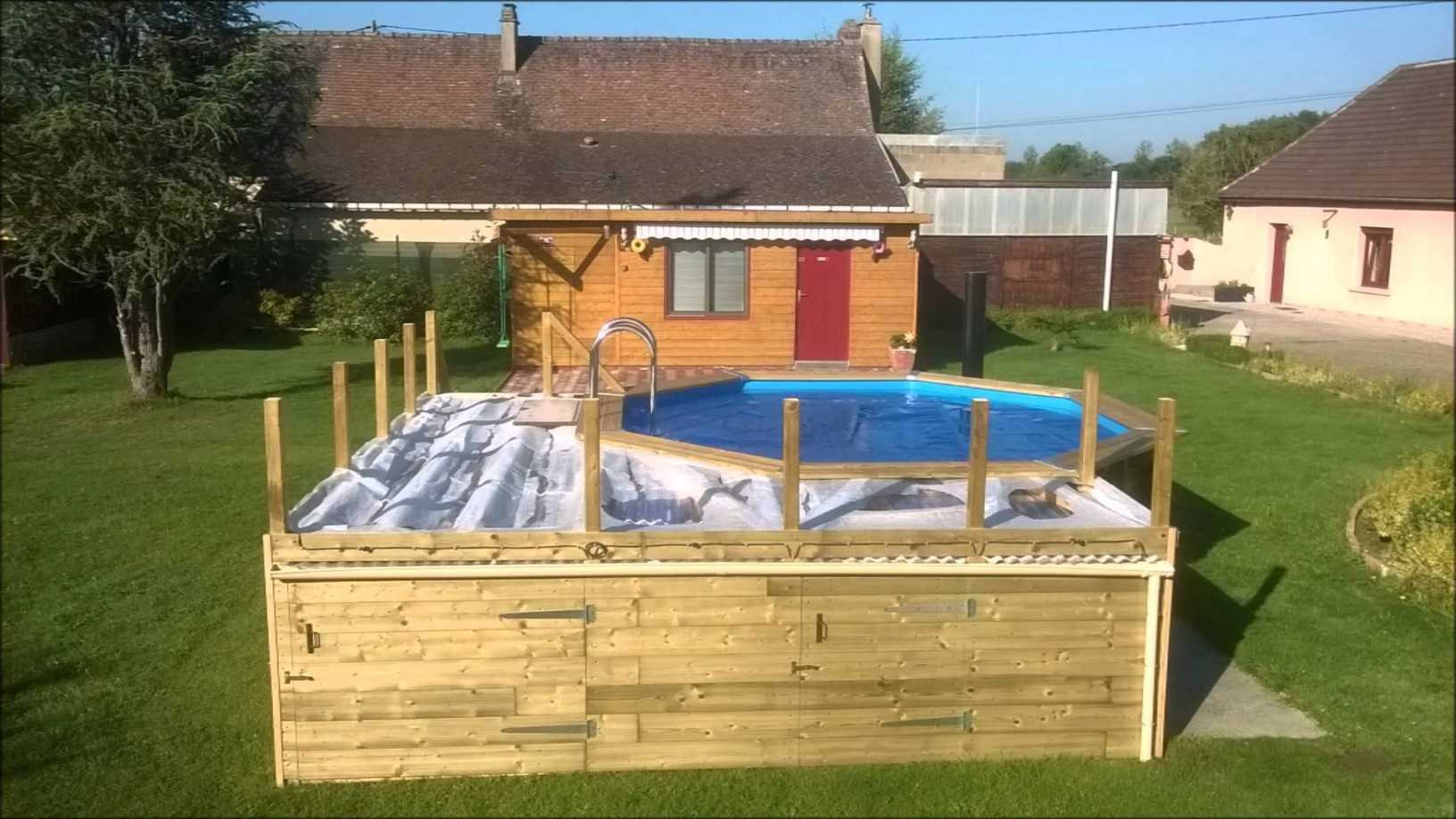 terrasse piscine palette
