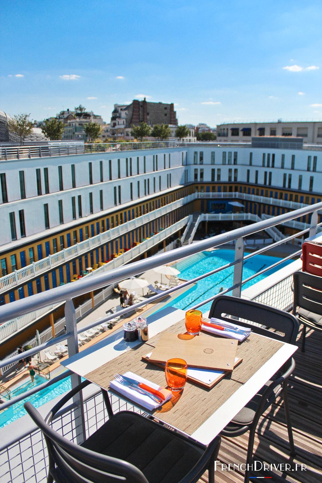 terrasse piscine paris