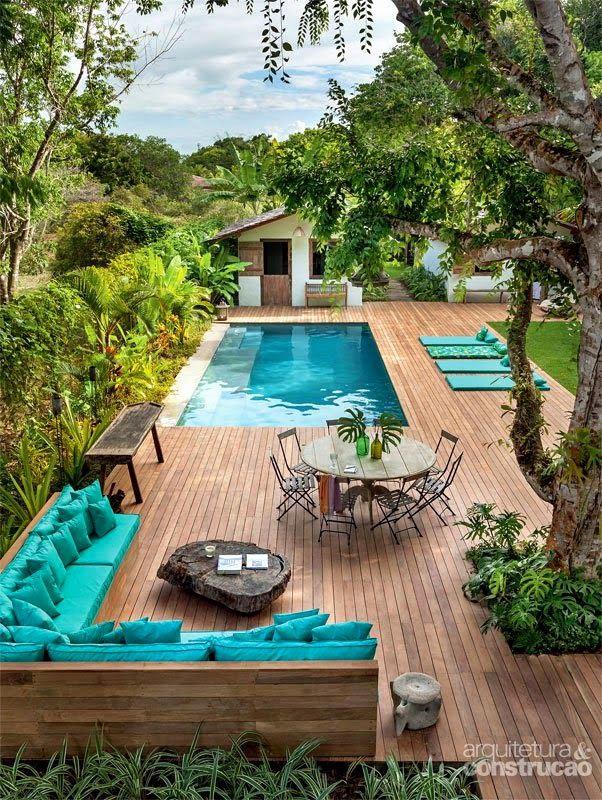 terrasse piscine pinterest