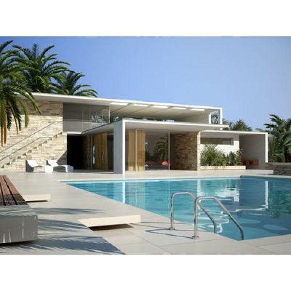 terrasse piscine sans margelle