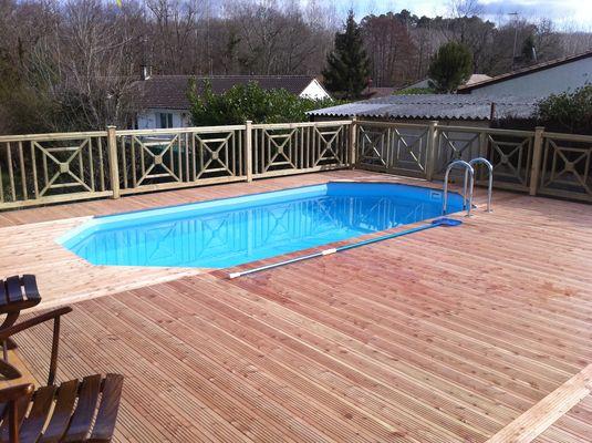 piscine bois douglas