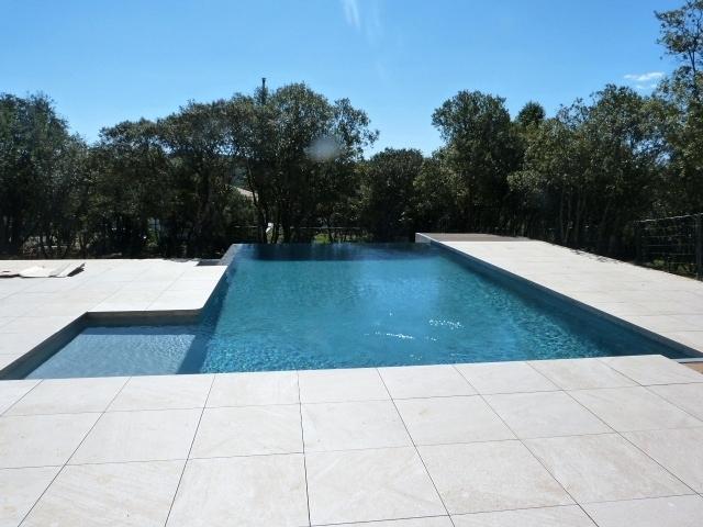 terrasse piscine sur plot