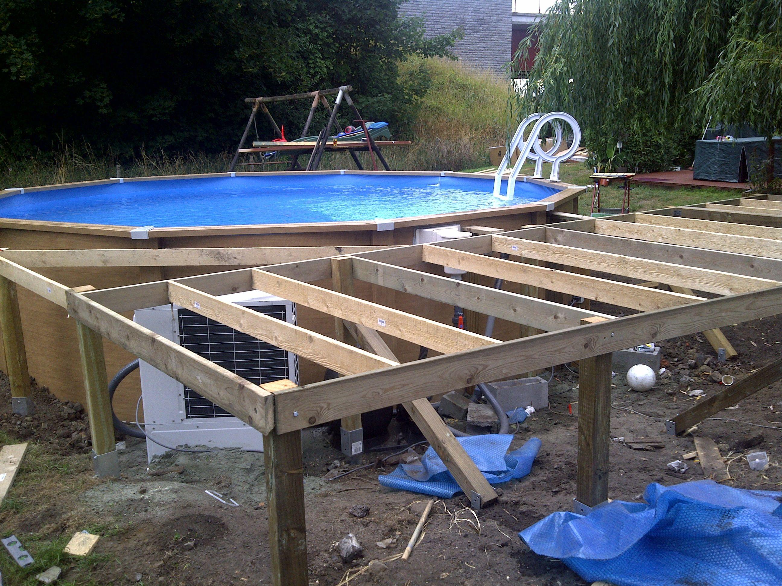 piscine tubulaire terrasse