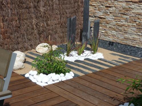 Terrasse Piscine Zen
