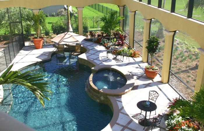terrasse piscine zen. Black Bedroom Furniture Sets. Home Design Ideas
