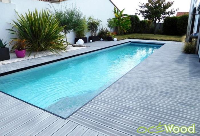 Terrasse piscine for Pool bordure
