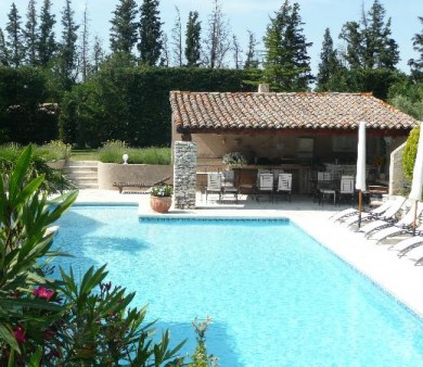 amenagement piscine avec pool house