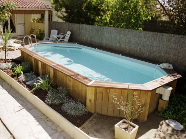 Fantastic amenagement piscine exterieure hors sol IF69