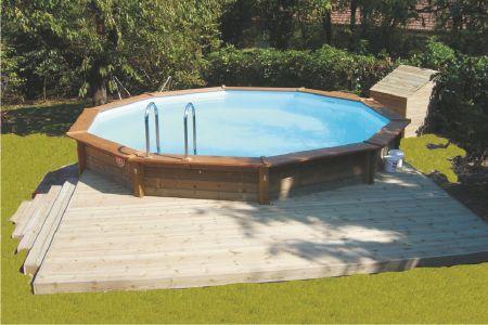 amenagement piscine hors sol semi enterree