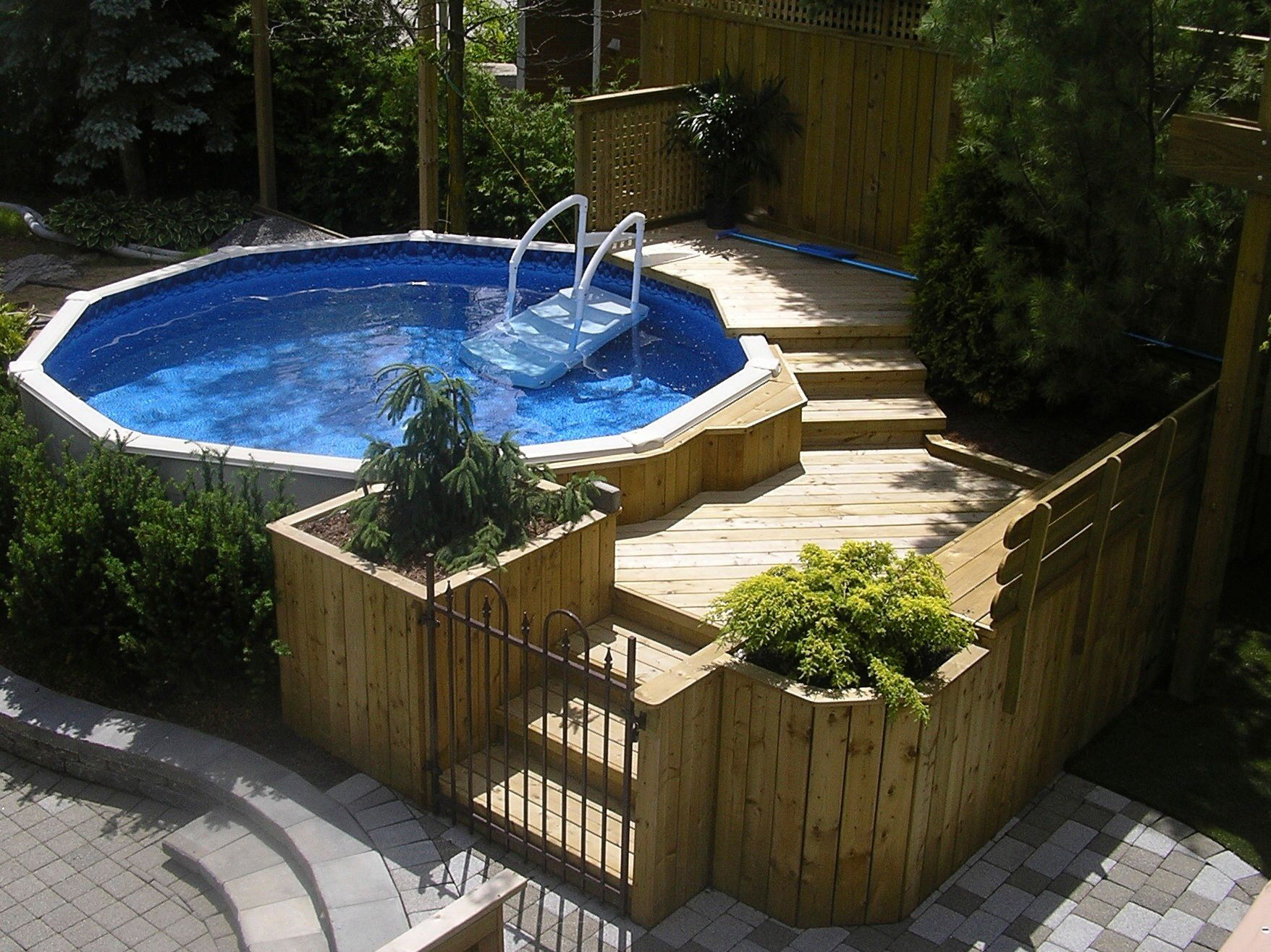 Amenagement Piscine Hors Terre Ovale