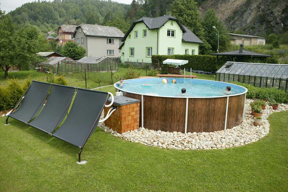 amenagement piscine ronde hors sol