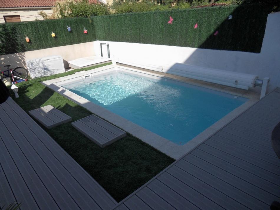 amenagement piscine sur petit terrain