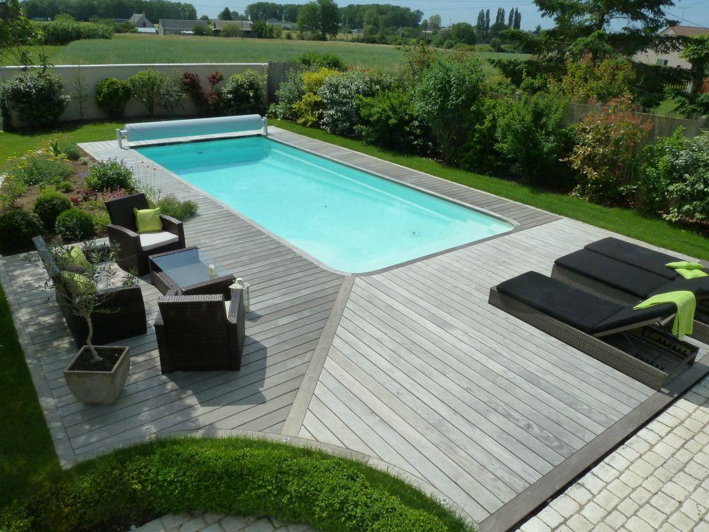 amenagement piscine terrasse bois
