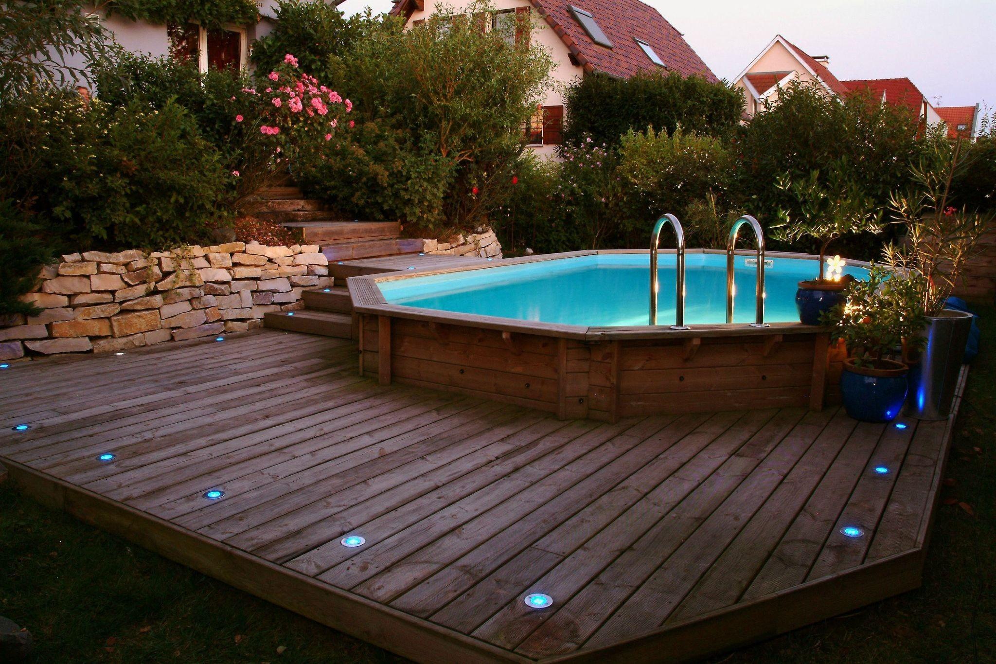 deco piscine exterieure hors sol