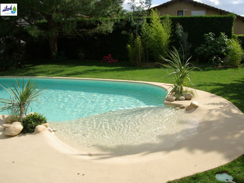 deco piscine plage
