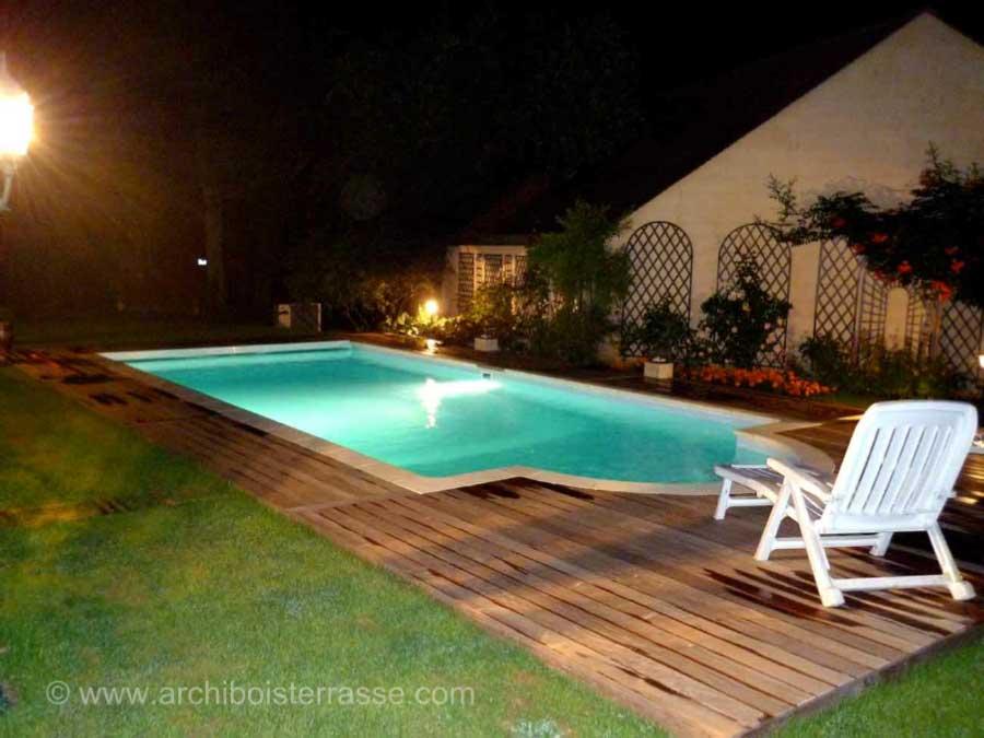 eclairage piscine amovible