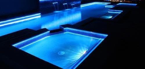 eclairage piscine bandeau led