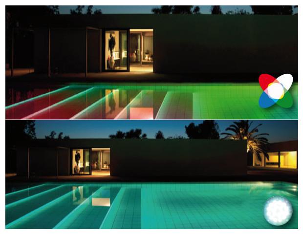 eclairage piscine enterree