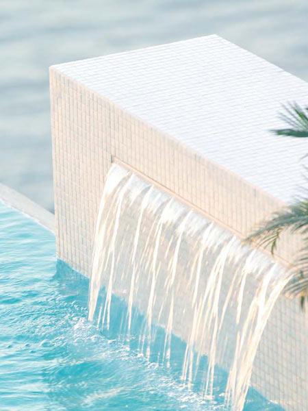 fontaine piscine polaris