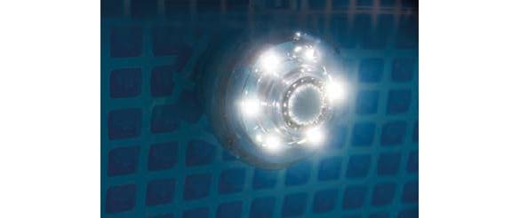 lumiere piscine intex