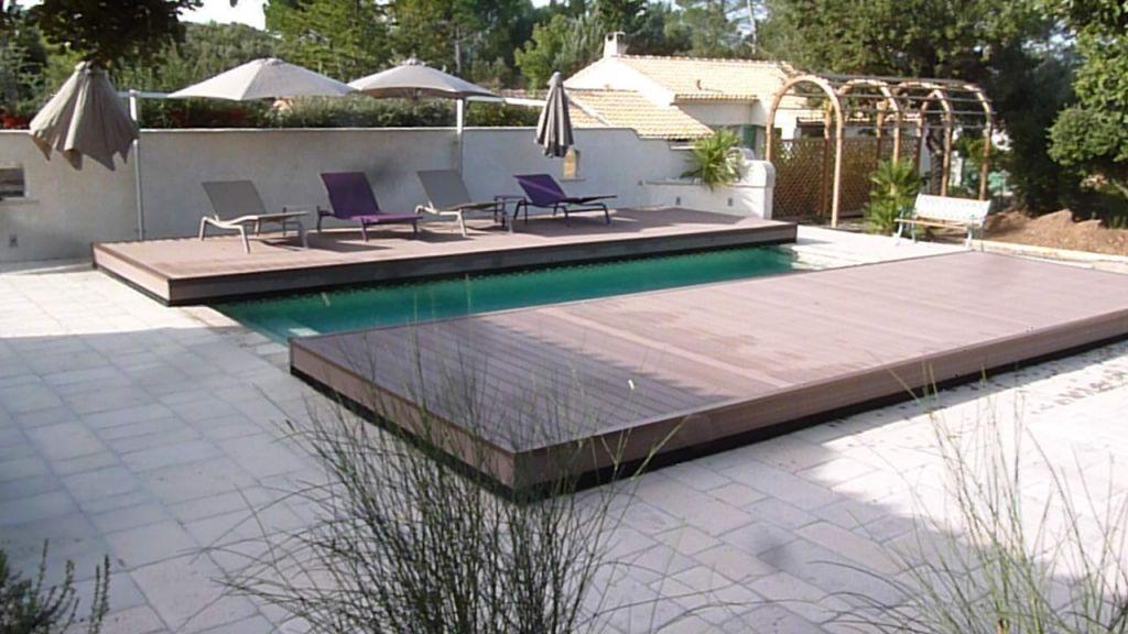 plage piscine amovible