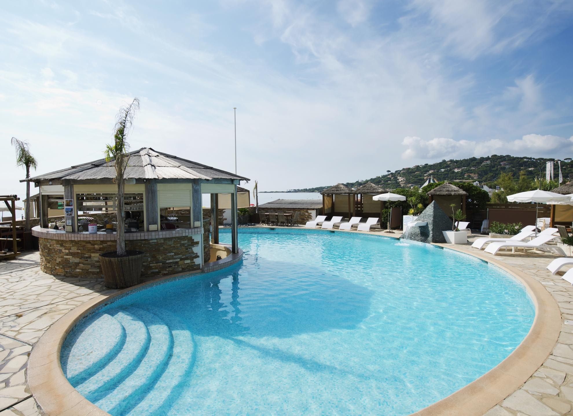 plage piscine sainte maxime