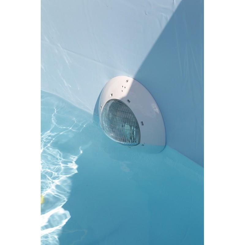 projecteur piscine acier