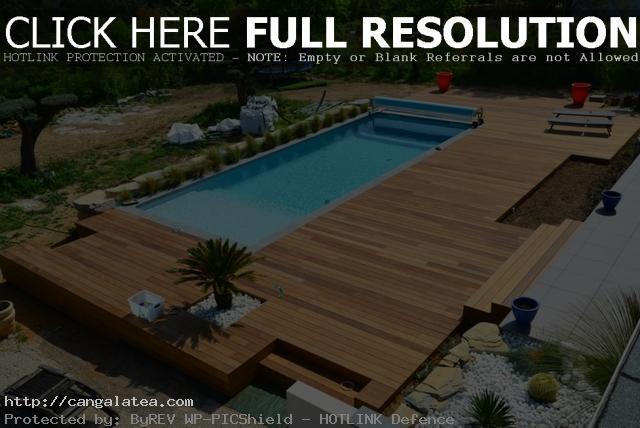terrasse piscine 40m2