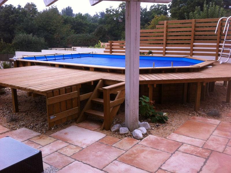 terrasse piscine autoportee