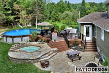 terrasse piscine hors terre