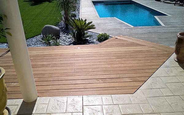 terrasse piscine mixte